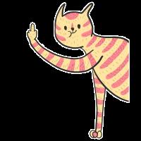 Lustiges Katzen Shirt Geschenk