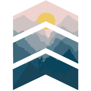 Wandern Mann Berge Klettern Sonne Natur Grafik P