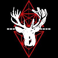 Cool Geometric Deer