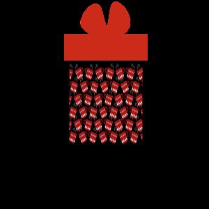 Geschenk voll Gluehwein
