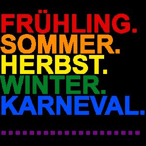 Köln Karneval Gaypride Flagge Regenbogenfarben