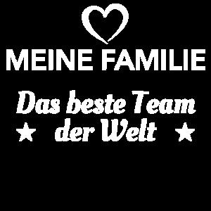 Meine Familie Bestes Team Kinder Eltern Geschenk