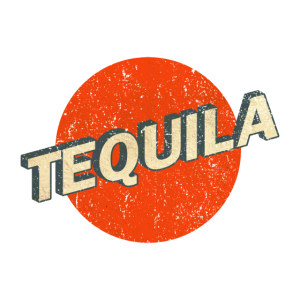 Tequila Retro Logo vintage