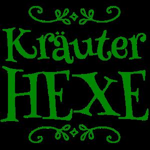 Kräuter Hexe Ranke grün