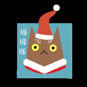 Ho ho ho Weihnachtskatze