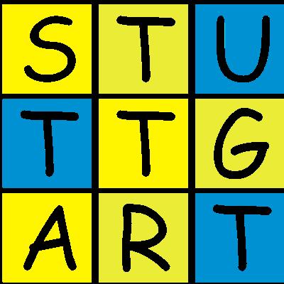 Stuttgart Cubes - Bekenne dich zu Deiner Lieblingsstadt mit einem schönen Städteshirt im Würfeldesign. - würfel,stadt,cubes,Städteshirt,Städte,Stuttgart
