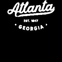 Vintage klassische Retro Atlanta Georgia Neuheit
