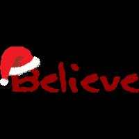 Believe in Christmas - Premium Design
