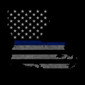 Louisiana Police dünne blaue Linie
