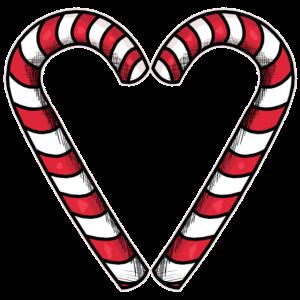 Zuckerstange Herz