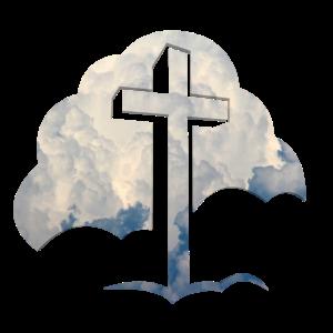 Jesus Wolken Jesus Kreuz