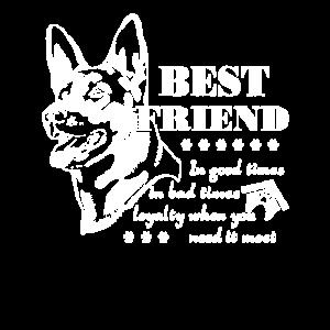 Schäferhund-bestes Freund-Hemd