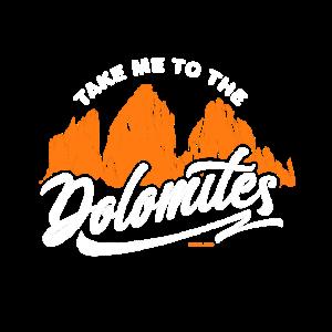 Bring mich zum Geschenk der Dolomiten