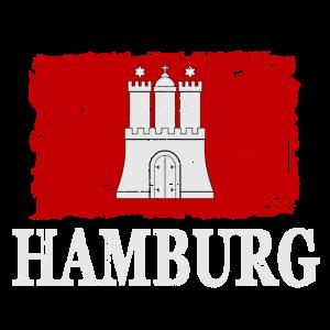 Hamburg Flagge - Hamburg Flag
