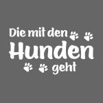 DIE MIT DEN HUNDEN GEHT - Hundepfoten