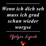 Pfälzer Gastgeschenk Spruch Lustig