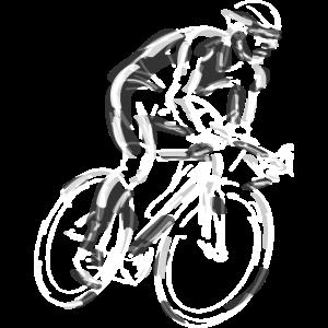 Fahrrad Radsport Rennrad Rennradfahrer Kunst
