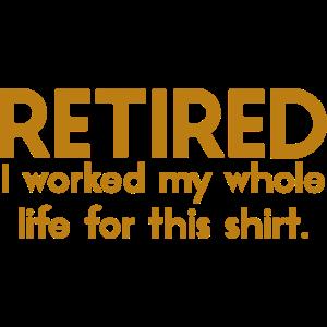 Ruhestand Rentner Abschiedsfeier lustig Geschenk
