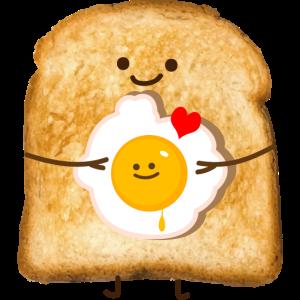 Toast und Ei