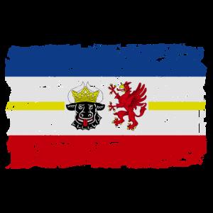 Mecklenburg-Vorpommern Flagge