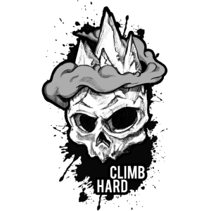 Klettern Skull - Climbing Shirt