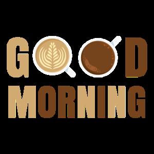 Guten Morgen Kaffee Aufstehen Geschenk Idee
