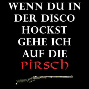 Jäger Pirsch Motiv Jugend
