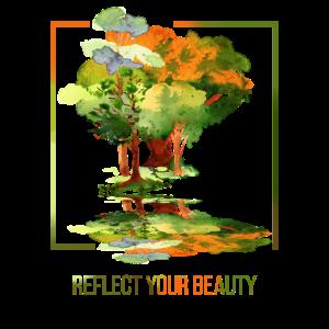 Natur Bäume Wald Geschenk Idee