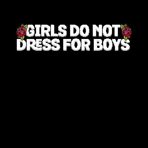 Mädchen kleiden sich nicht für Jungen