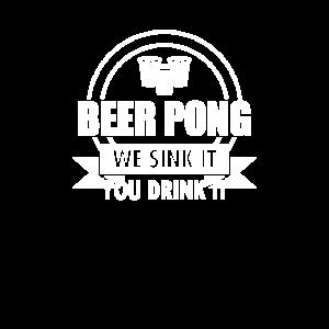 Bier Pong Champion, perfektes Geschenk