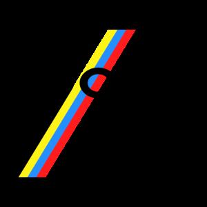 1990 Retro Regenbogen