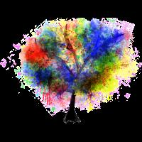 Künstlerisch Malerei Kunst zeichnung Baum