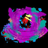 Künstlerisch Kunst Malerei Hut