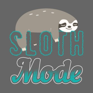 Sloth Mode Tired AF Running Shirt