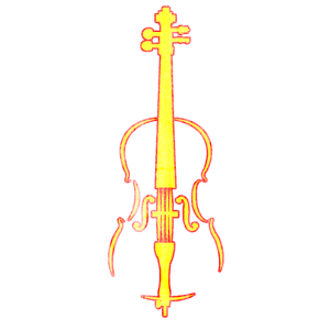 Musikinstrument Cello