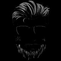 Totenkopf Sonnenbrille Bart Skull Geschenk