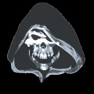 Streetart Totenkopf Schädel