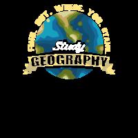 Geografie Geograf Erdkunde Lehrer Student Geschenk