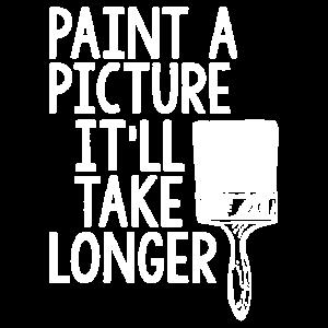 Malen Sie ein Bild T-Shirt