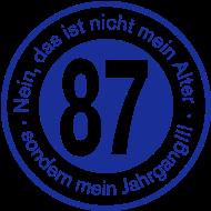 Jahrgang 1980 Geburtstagsshirt: 1987 - Jahrgang 87