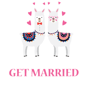 Llama get married