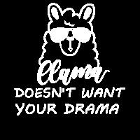 Llama doesn't want your drama