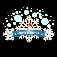 Schneemann Merry Christmas