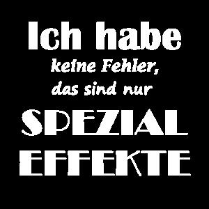 SPRUCH SPEZIAL EFFEKT