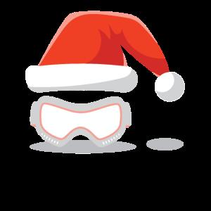 Winter Mütze Weihnachten Skibrille
