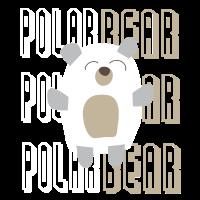 Polarbär Bär Kuscheltier Geschenk Polarbear