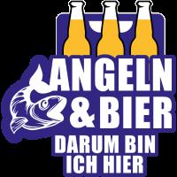 Angler Bier Geschenk für Angelsport Fisch Fun