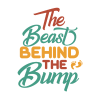 The Beast Behind The Bump Mom Pregnancy Shirt