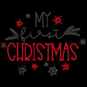 My first Christmas - Mein erstes Weihnachten