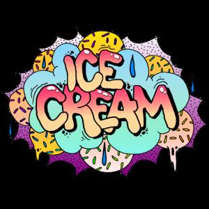 Sweet Ice Cream Graffiti